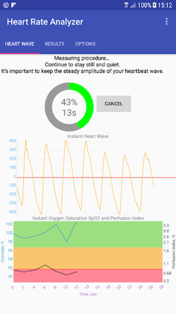 Heart Rate Analyzer screenshot 1
