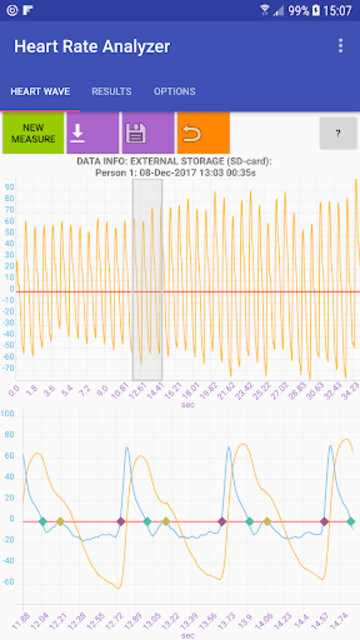 Heart Rate Analyzer screenshot 2