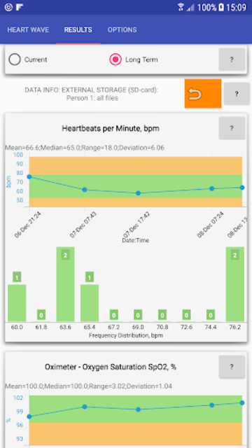 Heart Rate Analyzer screenshot 4