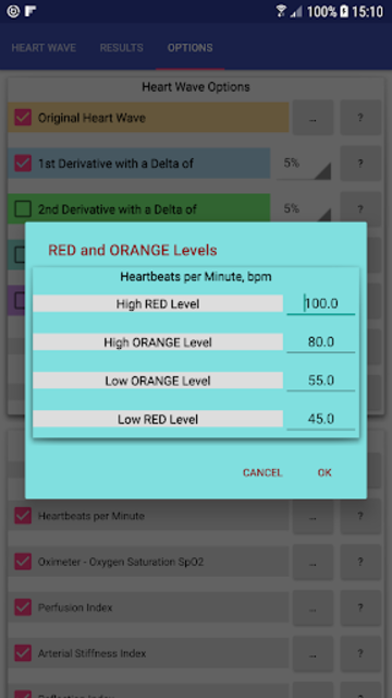 Heart Rate Analyzer screenshot 8