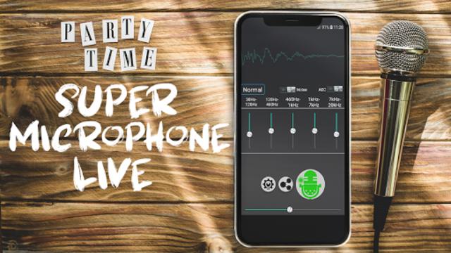 Super Microphone Live: realtime Mic screenshot 1