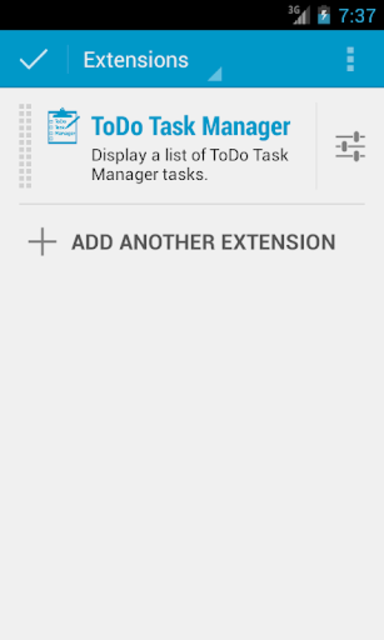 DashClock - ToDo Task Manager screenshot 1