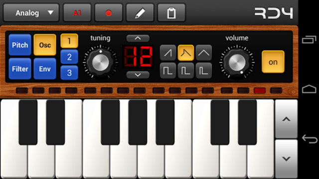 RD4 Groovebox screenshot 1