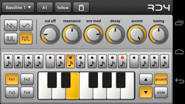 RD4 Groovebox screenshot 2