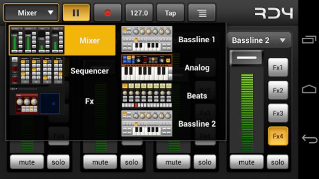 RD4 Groovebox screenshot 4