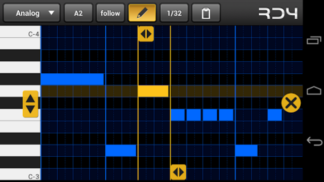 RD4 Groovebox screenshot 5