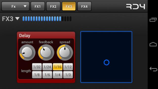 RD4 Groovebox screenshot 6