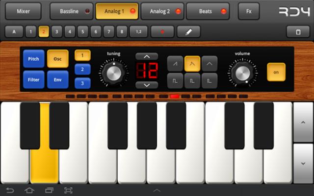 RD4 Groovebox screenshot 9