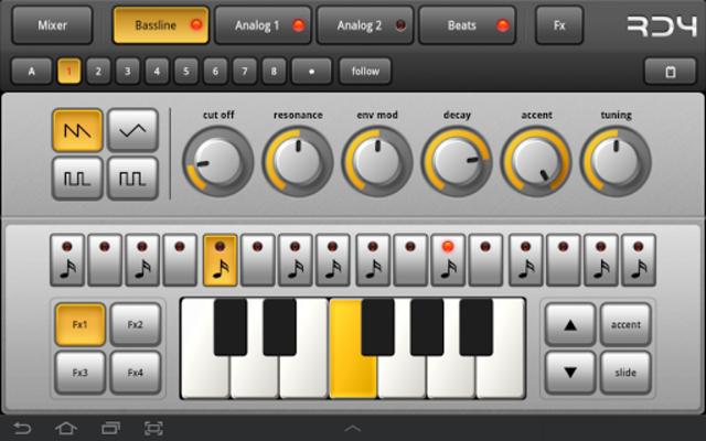 RD4 Groovebox screenshot 10