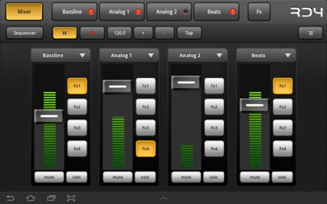 RD4 Groovebox screenshot 12
