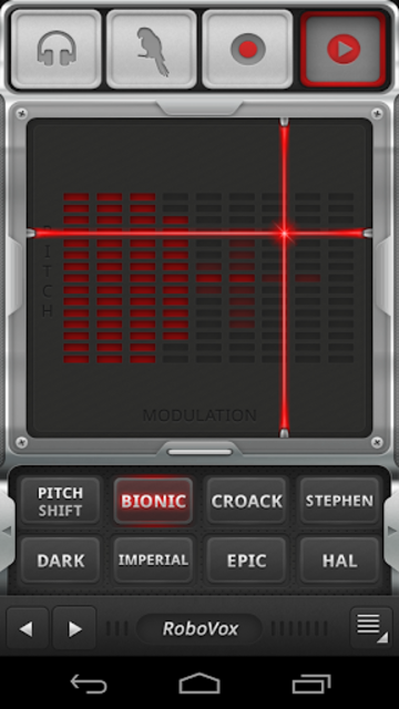 RoboVox Voice Changer screenshot 1
