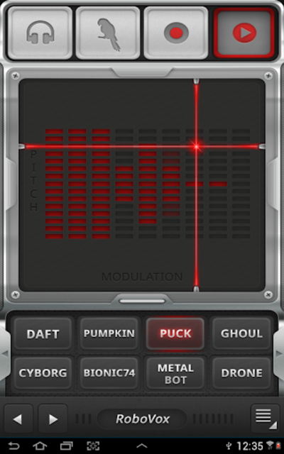 RoboVox Voice Changer screenshot 3
