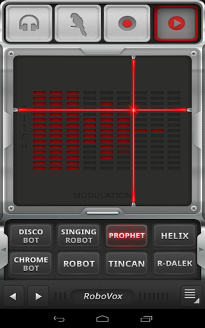 RoboVox Voice Changer screenshot 4