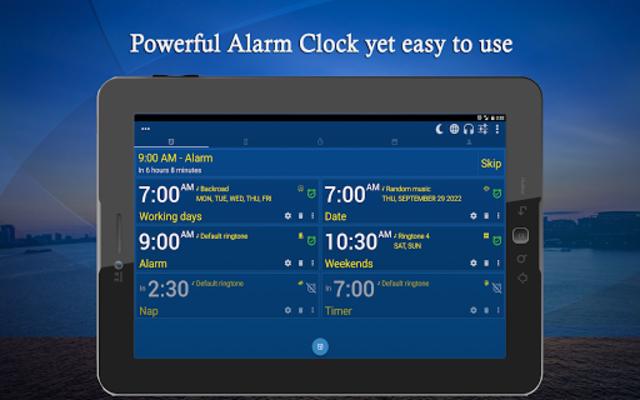 Alarm Clock & Timer & Stopwatch & Tasks & Contacts screenshot 10