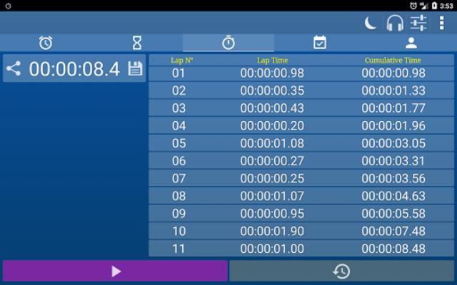 Alarm Clock & Timer & Stopwatch & Tasks & Contacts screenshot 20