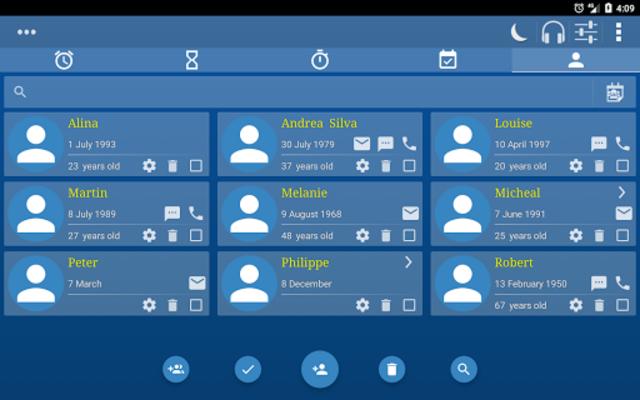 Alarm Clock & Timer & Stopwatch & Tasks & Contacts screenshot 22
