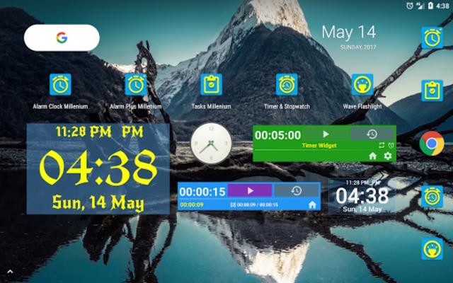 Alarm Clock & Timer & Stopwatch & Tasks & Contacts screenshot 23