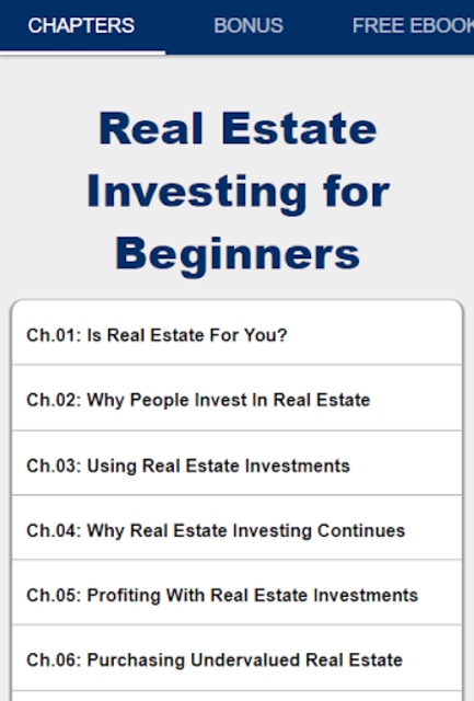 Real Estate Investing For Beginners screenshot 2