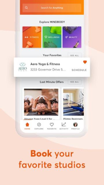 Mindbody: Fitness & Workout App screenshot 2