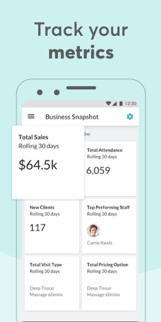 MINDBODY Business screenshot 4