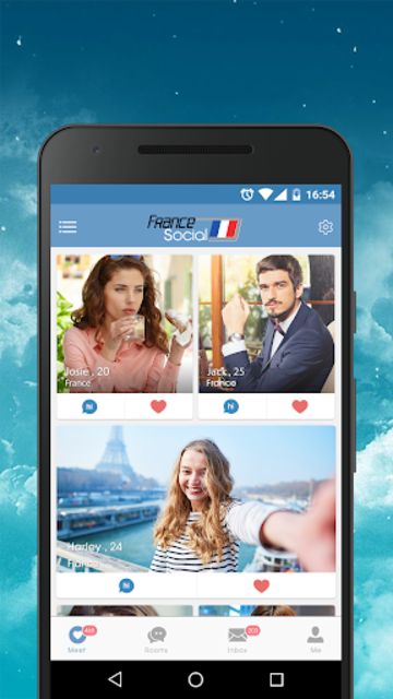 France Dating App - Meet, Chat, Date Nearby Locals screenshot 1