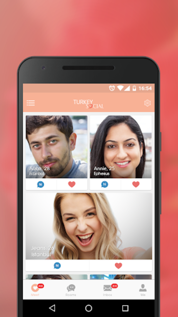 Turkey Social- Dating Chat App for Turkish Singles screenshot 1