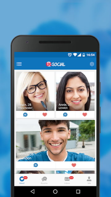 UK Social - British Date Video App to Meet Singles screenshot 1