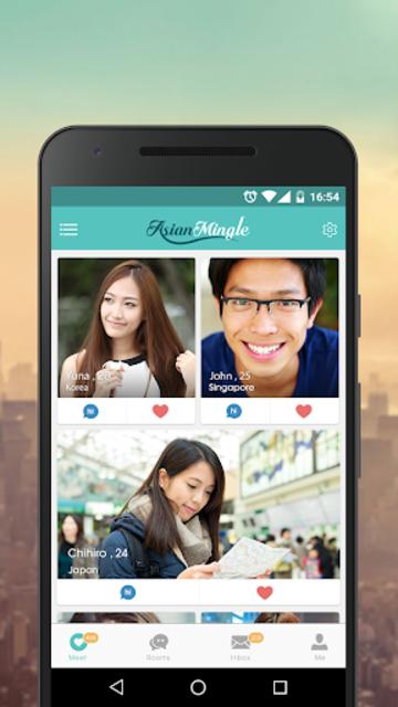 Asian Mingle - Free Asian Dating and Singles Chat screenshot 1