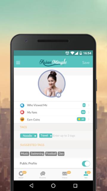 Asian Mingle - Free Asian Dating and Singles Chat screenshot 3
