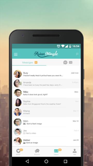 Asian Mingle - Free Asian Dating and Singles Chat screenshot 5