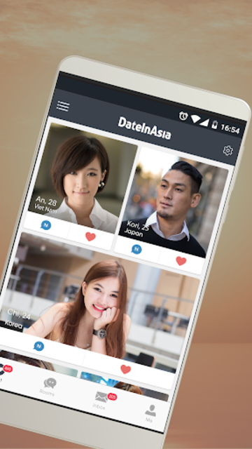Date in Asia - Dating & Chat For Asian Singles screenshot 1