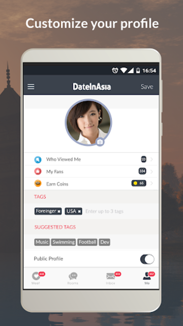 Date in Asia - Dating & Chat For Asian Singles screenshot 3