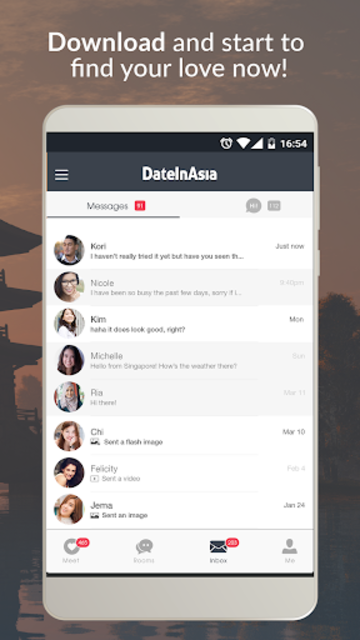 Date in Asia - Dating & Chat For Asian Singles screenshot 5