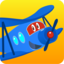 Carl Super Jet:  Airplane Rescue Flying Game