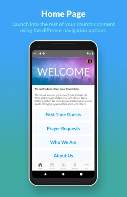 Church Center App screenshot 1