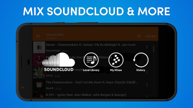 Cross DJ Free - dj mixer app screenshot 3