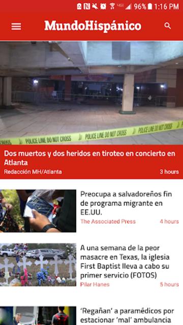 Mundo Hispánico screenshot 1
