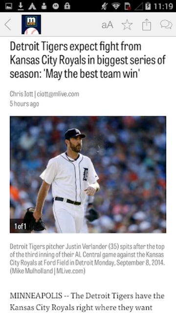 MLive.com: Detroit Tigers News screenshot 3
