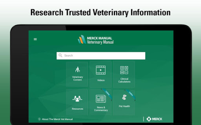 Merck Vet Manual screenshot 11