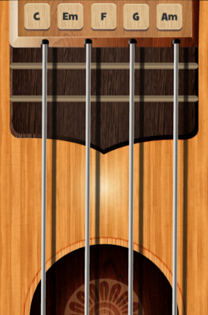 Mobile Ukulele screenshot 1
