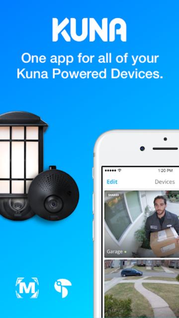 Kuna Home Security screenshot 1