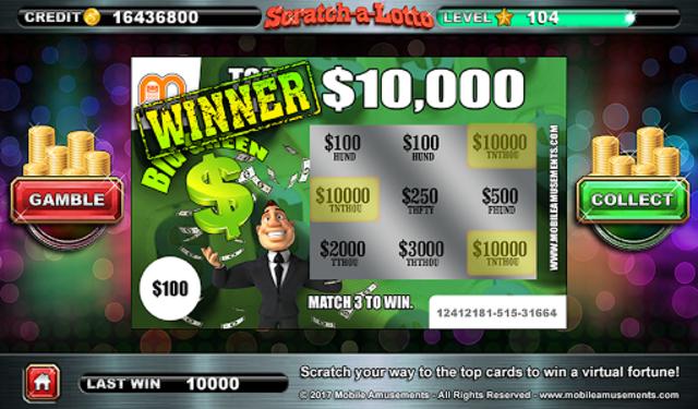 Scratch-a-Lotto Scratch Card Lottery PAID screenshot 9