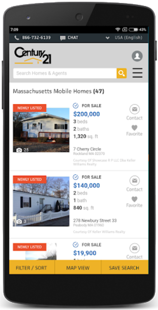 Mobile Homes for Sale USA screenshot 1