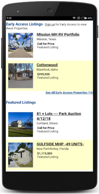 Mobile Homes for Sale USA screenshot 4
