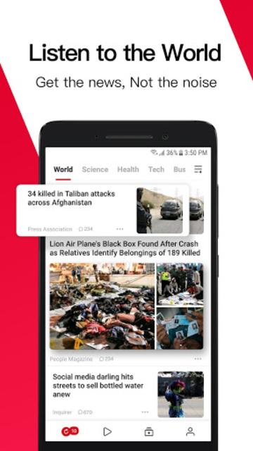 News Republic - Breaking and Trending News screenshot 1