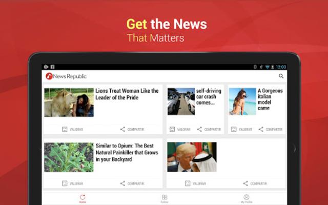 News Republic - Breaking and Trending News screenshot 9