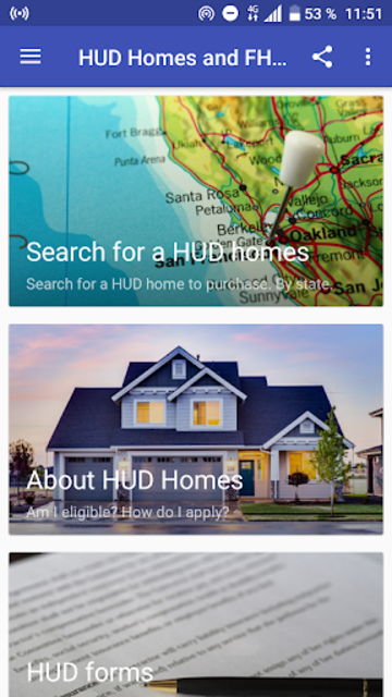 HUD Homes and FHA Loans screenshot 2