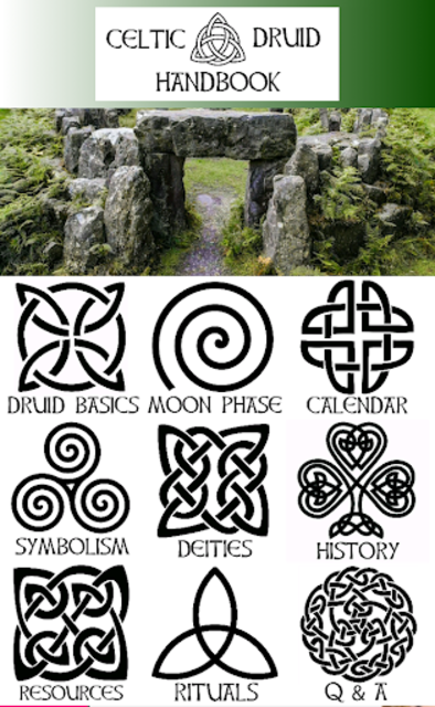 Celtic Druidry Handbook screenshot 1