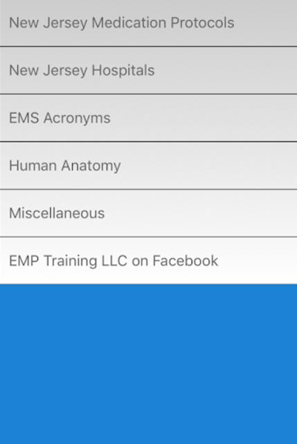 NJ EMT Quick Guide screenshot 1