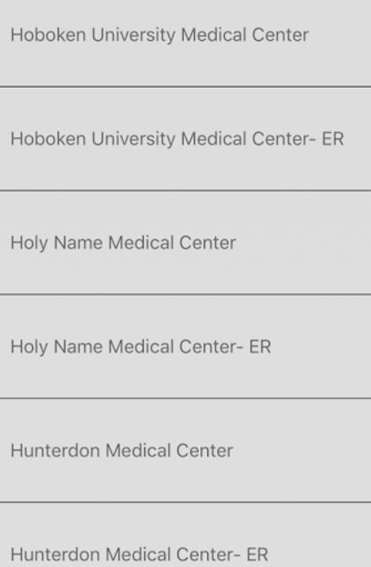 NJ EMT Quick Guide screenshot 3